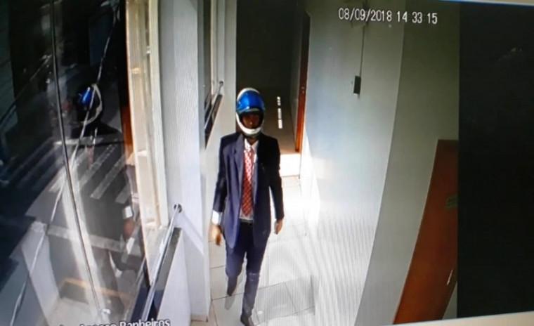 Suspeito do crime