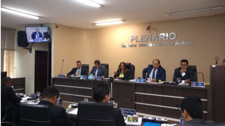 Plenário da Câmara de Araguaína