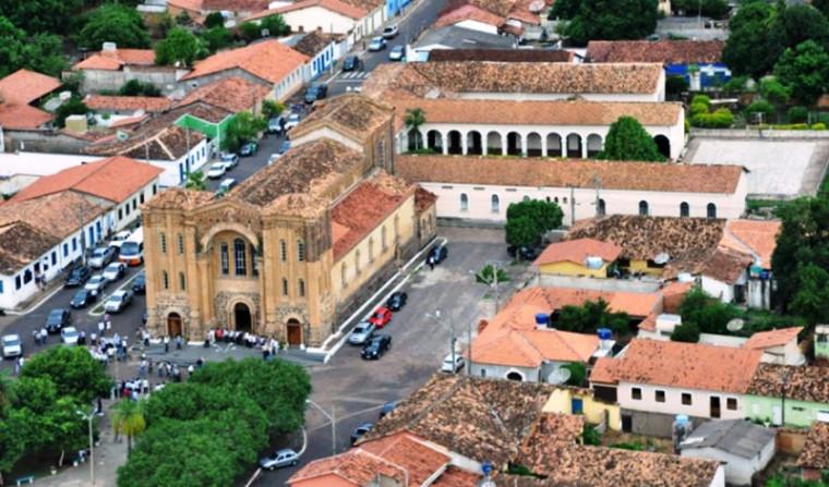Vista aérea de Porto Nacional