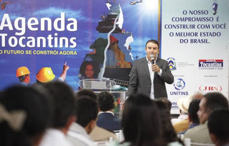 Agenda Tocantins foi realizado em 2011 no governo de Siqueira Campos