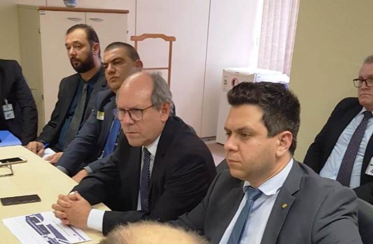 Dimas, Tiago, Gideon Soares e Fábio Astolfi