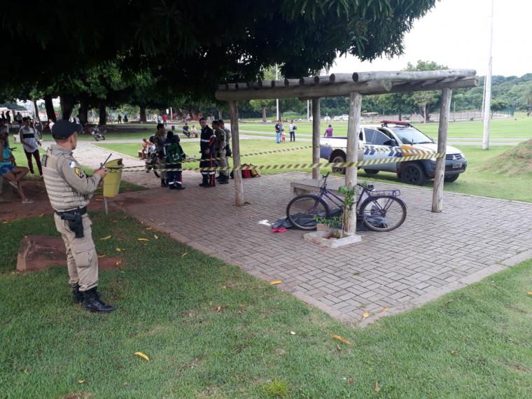 Homicídio no Parque Cimba
