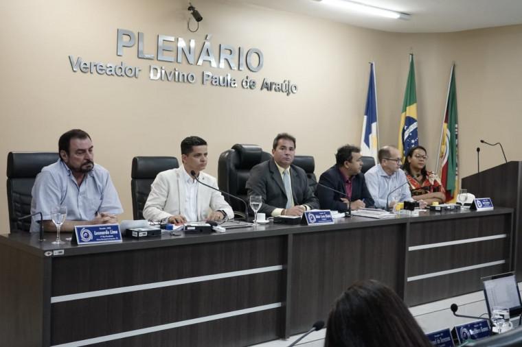 Sessão na Câmara de Araguaína para debater as mudanças no CPM
