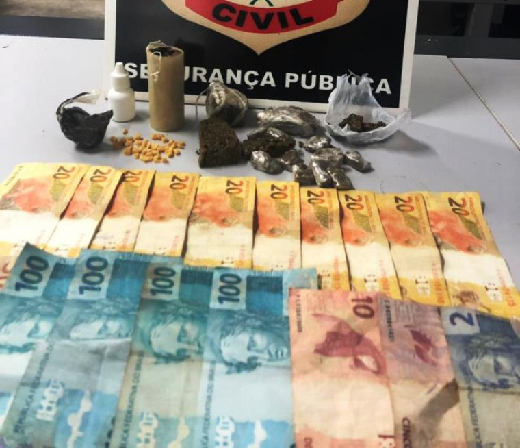 Dinheiro e drogas