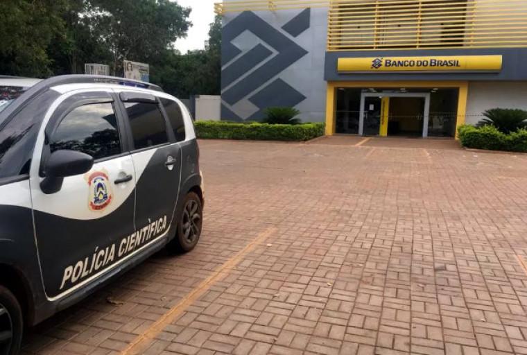 A agência foi isolada e a Polícia Civil investiga o caso
