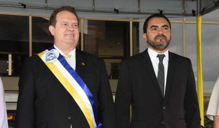 Mauro Carlesse e Wanderlei Barbosa