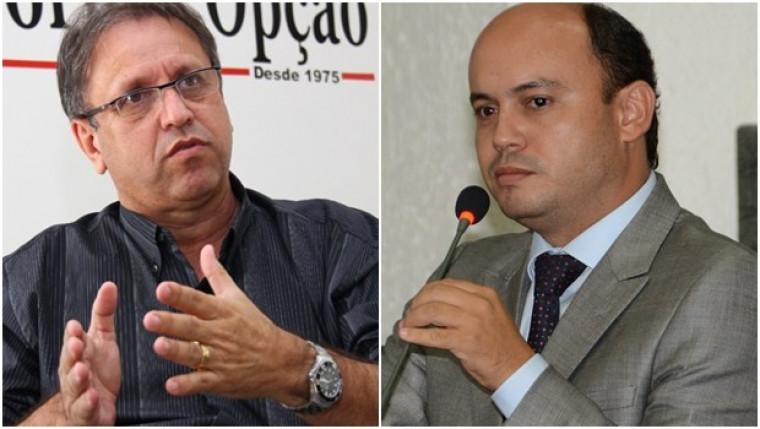 Ex-governadores Marcelo Miranda e Sandoval Cardoso