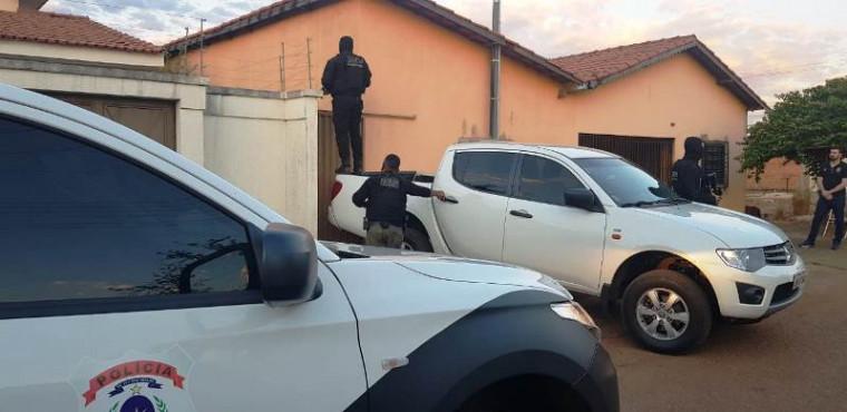Operação da polícia ocorreu em Paraíso
