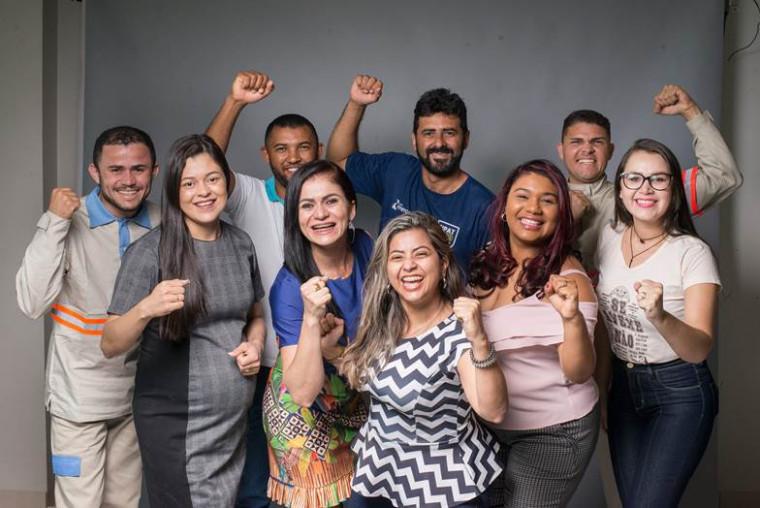 Colaboradores da Energisa Tocantins comemoraram o prêmio