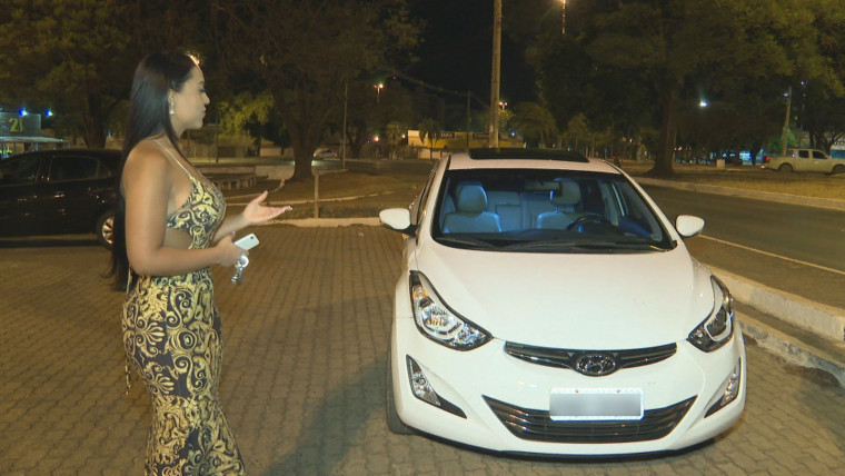 Carro da servidora pública Lana Albuquerque foi 'flagrada' a 710 km/h