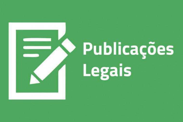Publicações oficiais