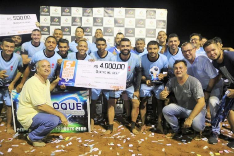 O Céu Azul foi o campeão