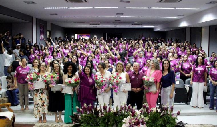 Mulheres que participaram do evento