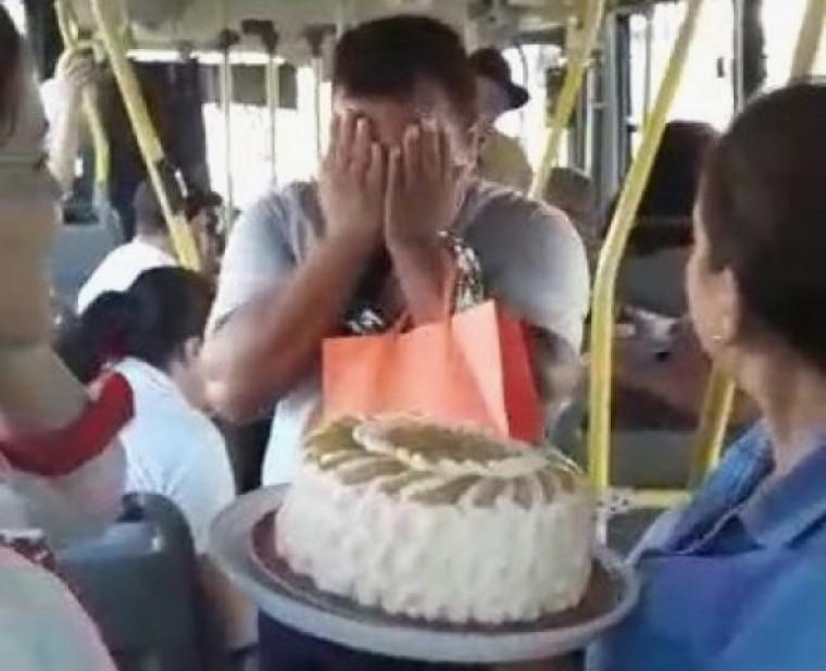 Momento da surpresa