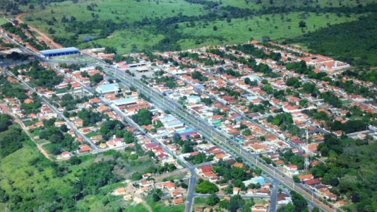 Cidade de Piquizeiro, região centro-norte do Tocantins