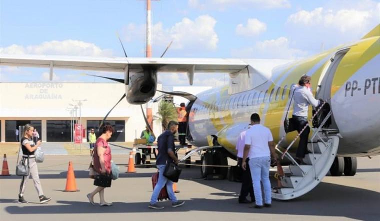Passaredo anuncio o fim do voo na rota Araguaína-Palmas