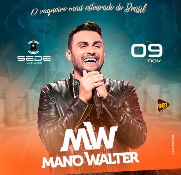 O show acontecerá nesse sábado na Live Music em Palmas