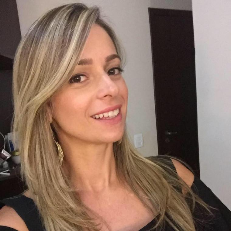 Atleta e professora Ludmila Barbosa de Oliveira