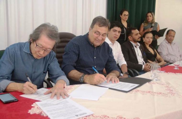 Assinatura do protocolo de intenções
