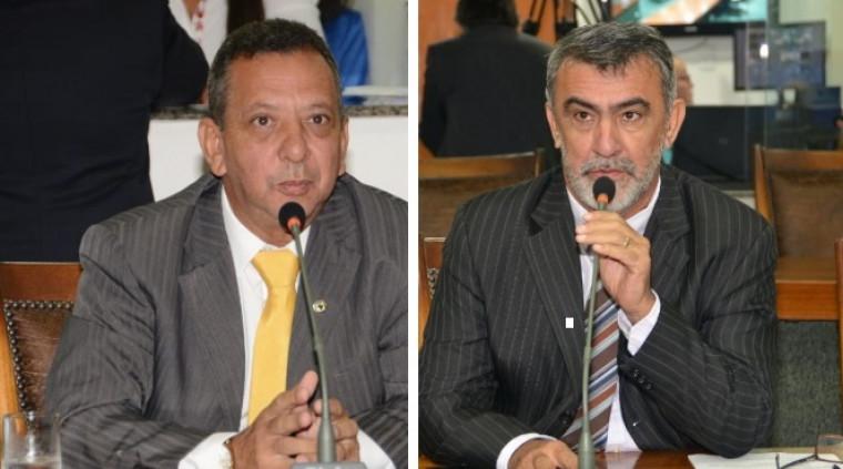 Toinho Andrade (esq.) e Amélio Cayres