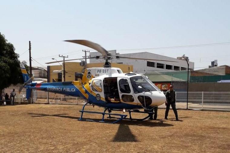 Helicóptero da SSP