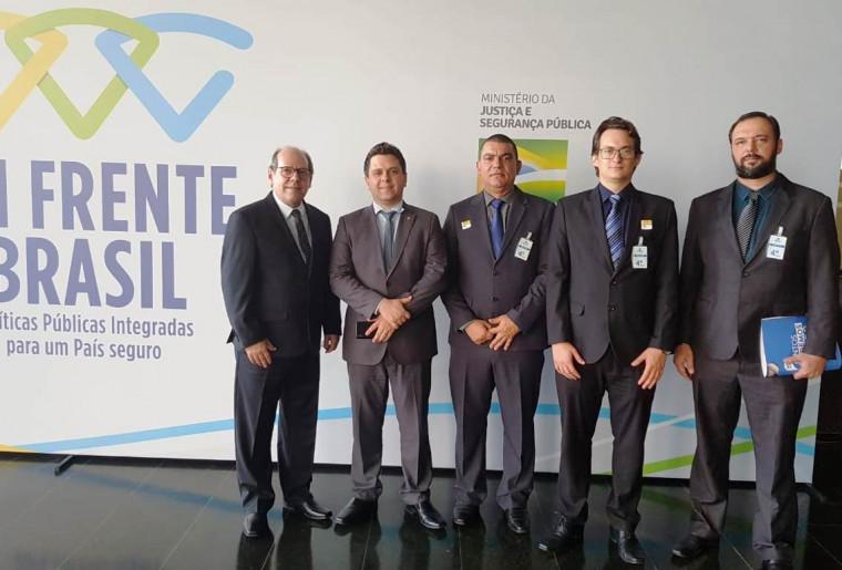 Reunião no Ministério da Justiça em Brasília