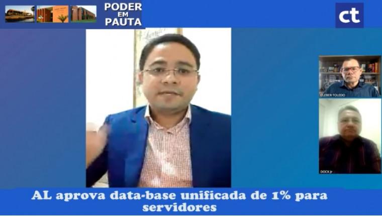 Time de Poder em Pauta: Arnaldo Filho, Cleber Toledo, Dock Júnior e Zacarias Martins
