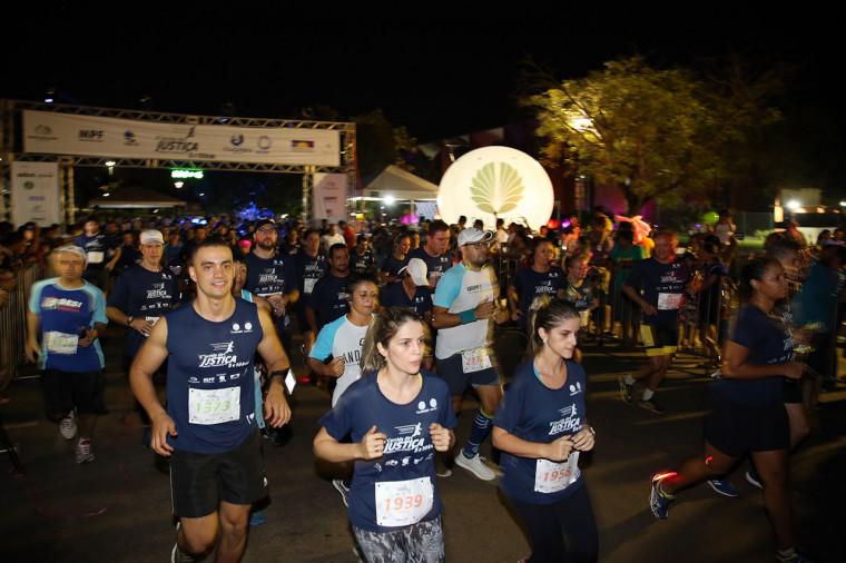 Corrida da Justiça aconteceu neste sábado (20) em Palmas