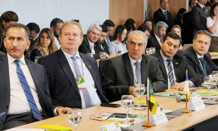 Fórum de governadores em Brasília