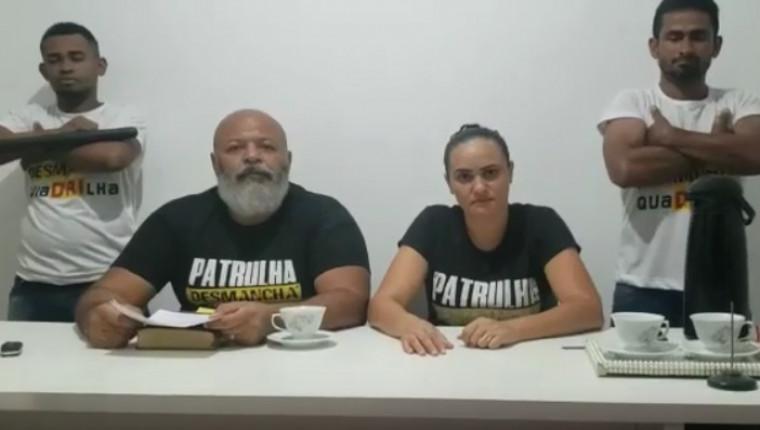 Nelcivan comenta decisão do STF ao lado da esposa
