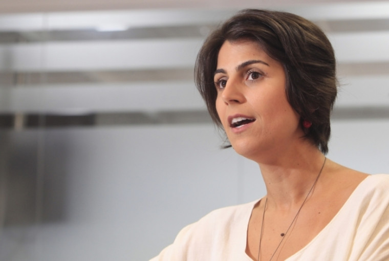 Manuela D'Ávila (PCdoB) mandou um recado aos tocantinenses