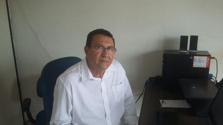 Presidente do sindicato, José Aparecido