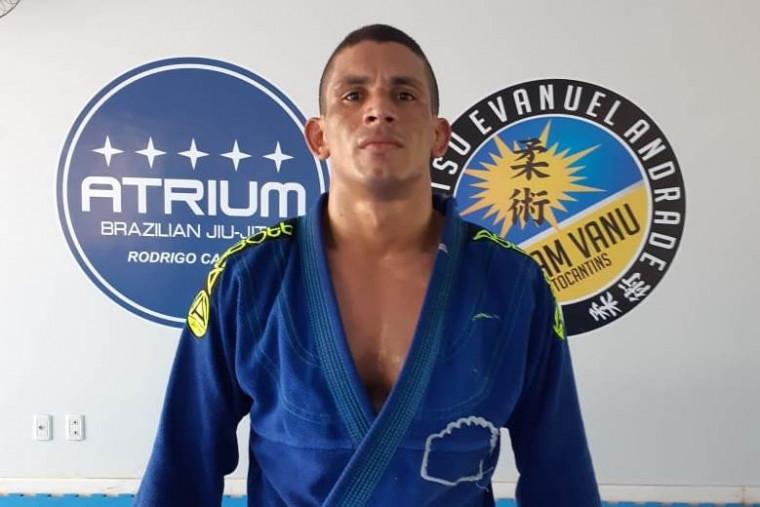 Caitano éo atleta de jiu-jitsu do Tocantins melhor colocado no ranking da Confederação Brasileira
