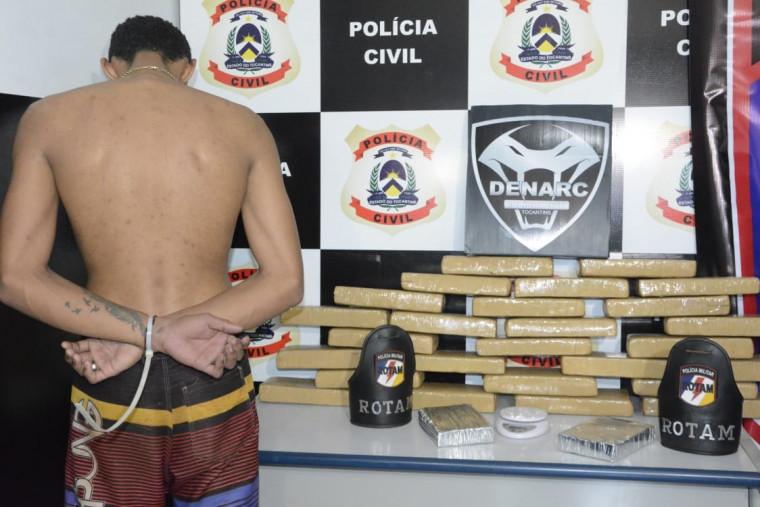 Operação conjunta da Polícias Civil e Militar