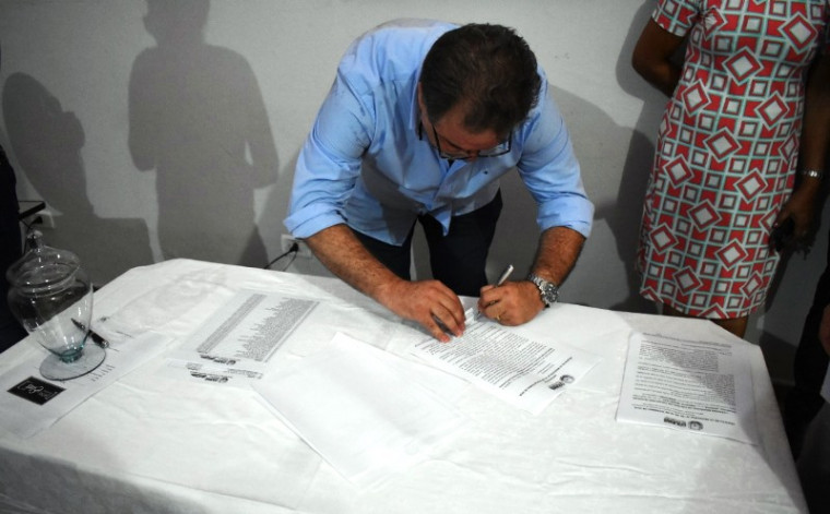 Assinatura do projeto