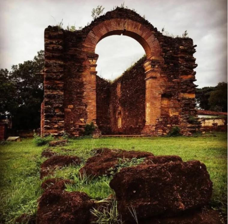Ruínas da Igreja de Nossa Senhora do Rosário dos Homens Pretos