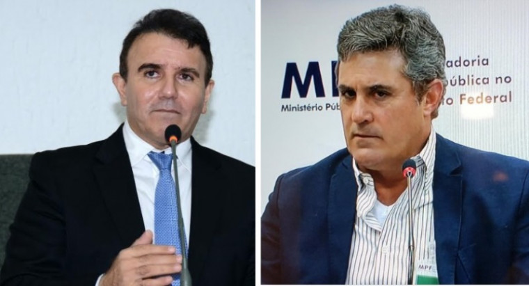 Eduardo Siqueira (esq.) e Rossine Aires Guimarães
