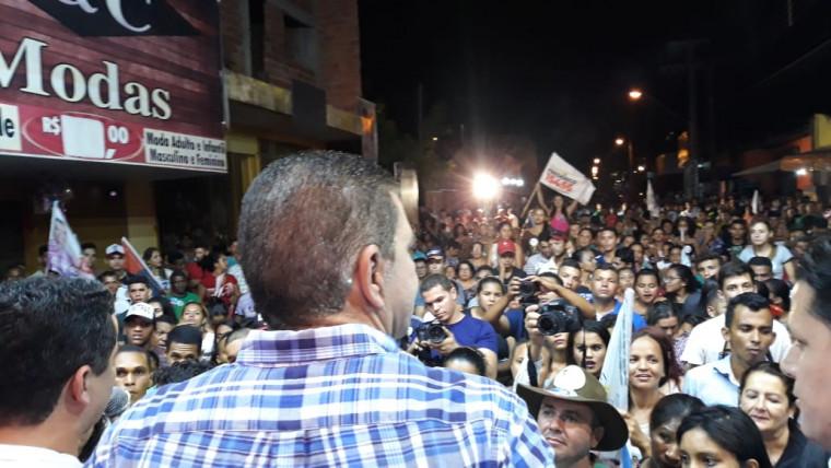 Reunião política de Amastha em Araguaína