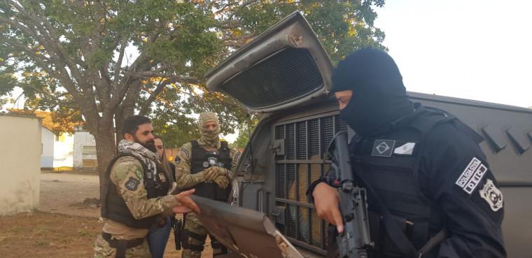 Todos os alvos da operação foram capturados pela polícia