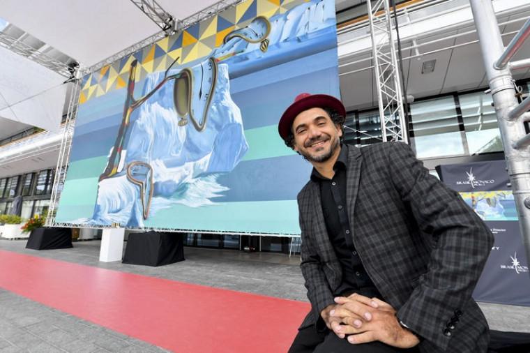 Com seu projeto Greenpincel, Kobra conseguiu expor, através de sua arte, a preocupação com as causas