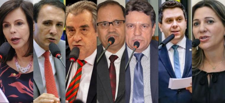 Deputados do Tocantins favoráveis