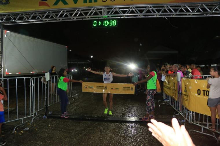 Antônio Wilson vencedor da Meia Maratona