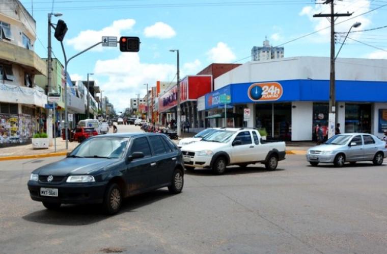 Semáforo em Araguaína