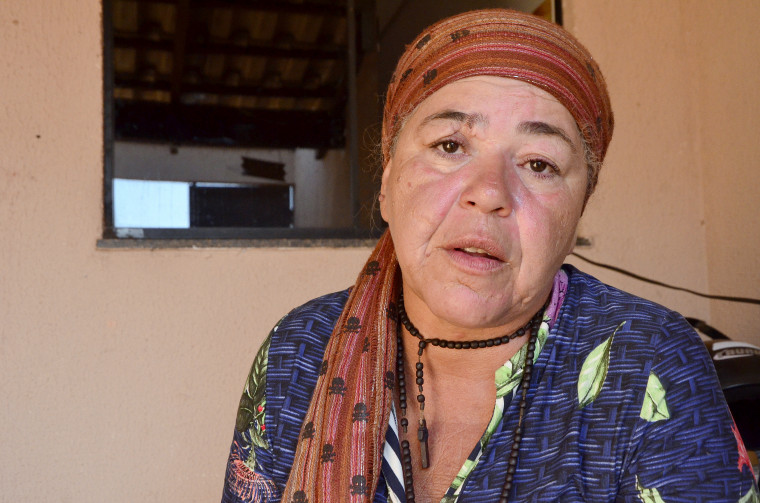 A lavradora mãe de cinco filhos disse que demorou 20 anos para se libertar do ciclo da violência