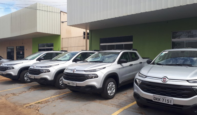 Veículos de luxo locados no ano passado pela Câmara de Palmas