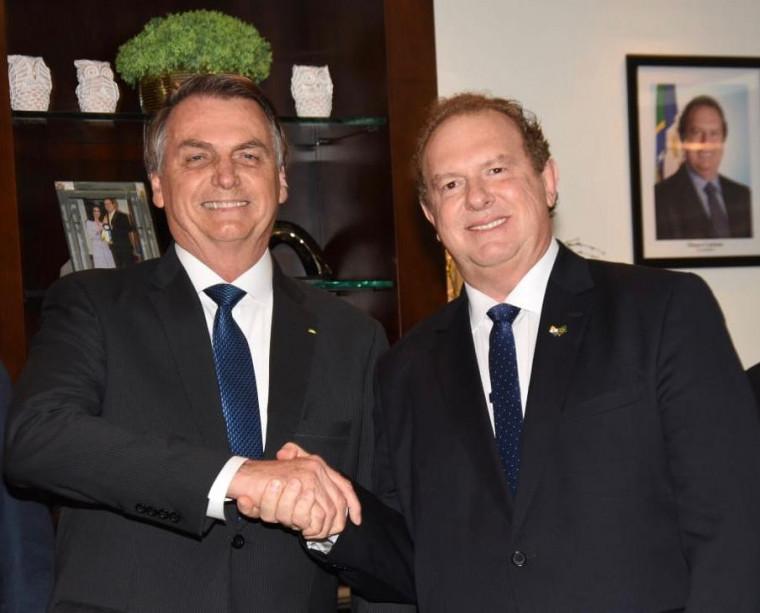 Carlesse apresentou várias demandas do Estado ao presidente Bolsonaro