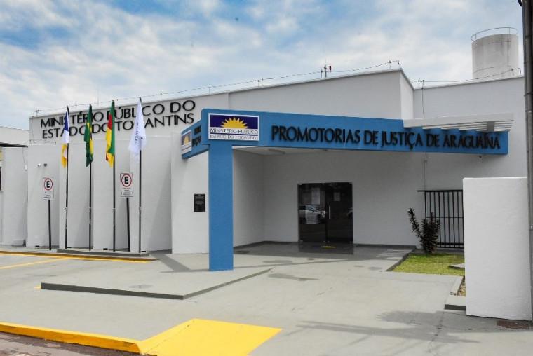 Sede do MPTO em Araguaína
