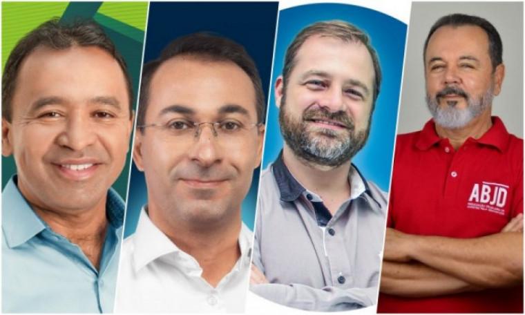 Araguaína tem 4 candidatos a prefeito