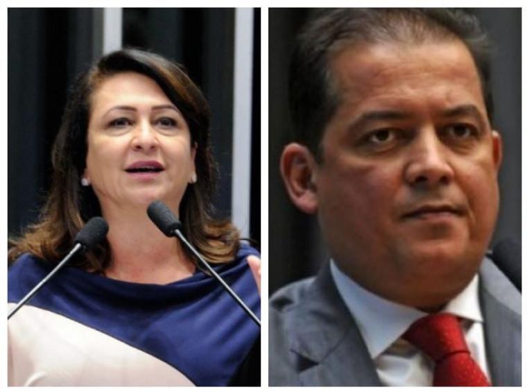 Senadores do Tocantins, Kátia Abreu e Eduardo Gomes