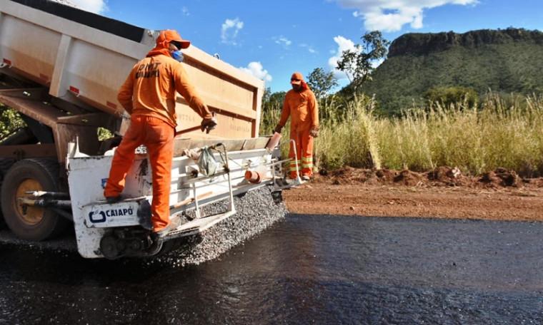13 trechos de rodovias foram totalmente restaurados